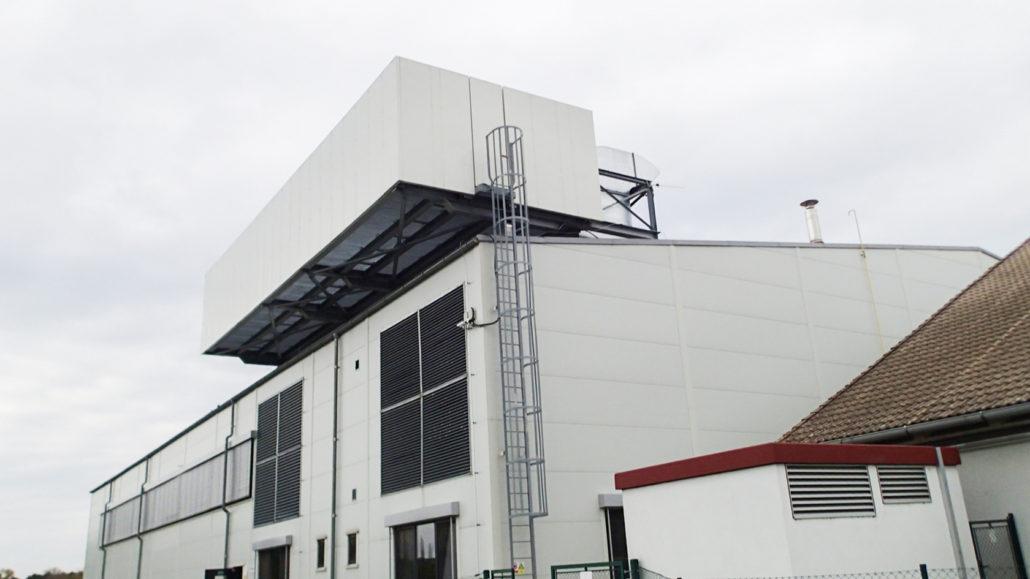 Noise barrier for technology